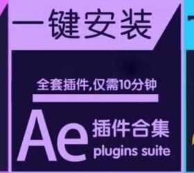 价值135的AE/PR/PS插件一键装