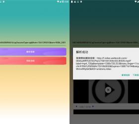 安卓微博视频一键下载器
