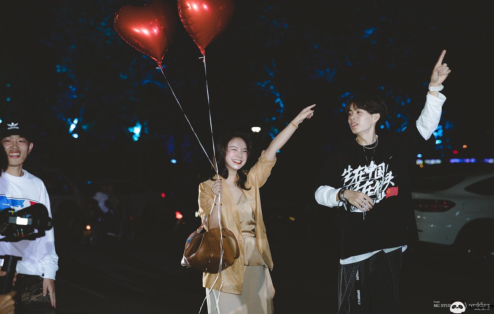 """MG出品 – 林挺许继苗求婚大电影""""美好的事物总是值得等待"""""""