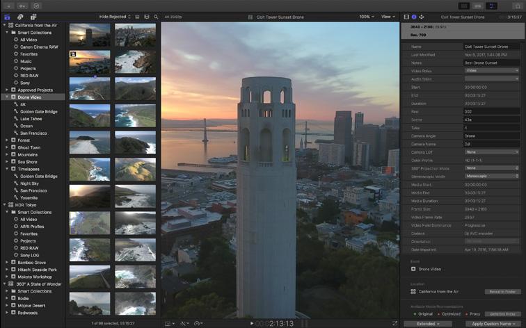 Final Cut Pro For Mac v10.4.8 最好用的视频后期剪辑工具